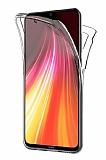 Eiroo Protection Samsung Galaxy M51 360 Derece Koruma Şeffaf Silikon Kılıf