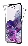 Eiroo Protection Samsung Galaxy S20 FE 360 Derece Koruma Şeffaf Silikon Kılıf