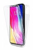 Eiroo Protection Xiaomi Mi 8 Lite 360 Derece Koruma Şeffaf Silikon Kılıf