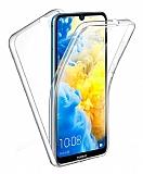 Eiroo Protection Huawei Y5 2019 360 Derece Koruma Şeffaf Silikon Kılıf