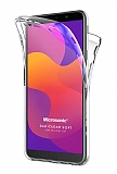 Eiroo Protection Huawei Y5p 360 Derece Koruma Şeffaf Silikon Kılıf