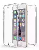 Eiroo Protection iPhone 6 Plus / 6S Plus 360 Derece Koruma Şeffaf Silikon Kılıf