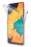 Eiroo Protection Huawei Y6p 360 Derece Koruma Şeffaf Silikon Kılıf
