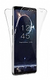 Eiroo Protection Samsung Galaxy S9 Plus 360 Derece Koruma Şeffaf Silikon Kılıf