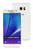 Eiroo Protection Samsung Note 5 360 Derece Koruma Şeffaf Rubber Kılıf