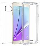 Eiroo Protection Samsung Note 5 360 Derece Koruma �effaf Silikon K�l�f