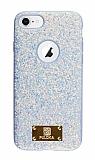 Eiroo Puloka iPhone 7 / 8 Işıltılı Mavi Silikon Kılıf