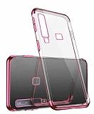 Eiroo Radiant Casper Via F3 Rose Gold Kenarlı Şeffaf Silikon Kılıf