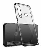Eiroo Radiant Casper Via F3 Siyah Kenarlı Şeffaf Silikon Kılıf