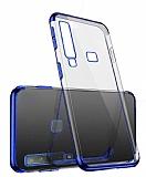 Eiroo Radiant Casper Via F3 Lacivert Kenarlı Şeffaf Silikon Kılıf