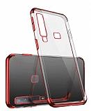 Eiroo Radiant Casper Via F3 Kırmızı Kenarlı Şeffaf Silikon Kılıf