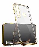 Eiroo Radiant Casper Via F3 Gold Kenarlı Şeffaf Silikon Kılıf