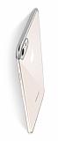 Eiroo Radiant iPhone 6 / 6S Silver Kenarlı Şeffaf Rubber Kılıf
