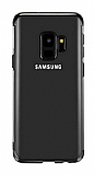 Eiroo Radiant Samsung Galaxy A6 2018 Siyah Kenarlı Şeffaf Silikon Kılıf