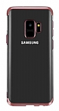 Eiroo Radiant Samsung Galaxy J2 Core Rose Gold Kenarlı Şeffaf Silikon Kılıf