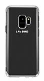 Eiroo Radiant Samsung Galaxy J2 Core Silver Kenarlı Şeffaf Silikon Kılıf