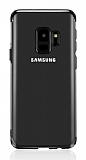 Eiroo Radiant Samsung Galaxy J6 Siyah Kenarlı Şeffaf Silikon Kılıf