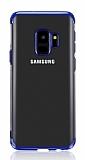 Eiroo Radiant Samsung Galaxy J6 Lacivert Kenarlı Şeffaf Silikon Kılıf