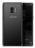 Eiroo Radiant Samsung Galaxy S9 Siyah Kenarlı Şeffaf Silikon Kılıf