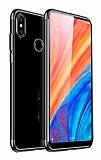 Eiroo Radiant Samsung Galaxyy A40 Silver Kenarlı Şeffaf Silikon Kılıf