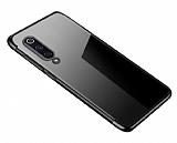 Eiroo Radiant Xiaomi Mi 9T Siyah Kenarlı Şeffaf Silikon Kılıf
