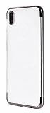 Eiroo Radiant Xiaomi Redmi 7A Silver Kenarlı Şeffaf Silikon Kılıf