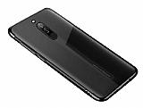 Eiroo Radiant Xiaomi Redmi 8 Siyah Kenarlı Şeffaf Silikon Kılıf