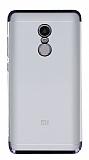 Eiroo Radiant Xiaomi Redmi Note 4 / Redmi Note 4X Siyah Kenarlı Şeffaf Rubber Kılıf