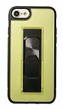 Eiroo Raptor iPhone 7 / 8 Sarı Silikon Kılıf