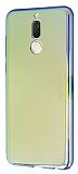 Eiroo Reflection Huawei Mate 10 Lite Tam Kenar Koruma Sarı Rubber Kılıf