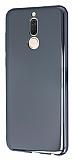 Eiroo Reflection Huawei Mate 10 Lite Tam Kenar Koruma Siyah Rubber Kılıf