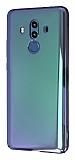 Eiroo Reflection Huawei Mate 10 Pro Tam Kenar Koruma Yeşil Rubber Kılıf