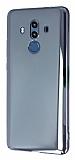 Eiroo Reflection Huawei Mate 10 Pro Tam Kenar Koruma Siyah Rubber Kılıf