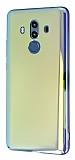 Eiroo Reflection Huawei Mate 10 Pro Tam Kenar Koruma Sarı Rubber Kılıf