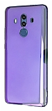 Eiroo Reflection Huawei Mate 10 Pro Tam Kenar Koruma Mor Rubber Kılıf
