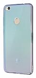 Eiroo Reflection Huawei P9 Lite 2017 Tam Kenar Koruma Yeşil Rubber Kılıf