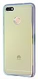 Eiroo Reflection Huawei P9 Lite Mini Tam Kenar Koruma Sarı Rubber Kılıf