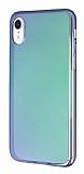 Eiroo Reflection iPhone XR Tam Kenar Koruma Yeşil Rubber Kılıf