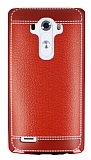 Eiroo Retro Look LG G3 K�rm�z� Silikon K�l�f