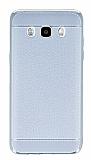 Eiroo Retro Look Samsung Galaxy J5 2016 Silver Silikon K�l�f