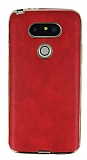 Eiroo Rind LG G5 Kırmızı Silikon Kılıf