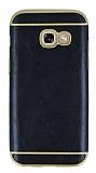 Eiroo Rind Samsung Galaxy A5 2017 Siyah Silikon Kılıf