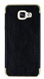 Eiroo Rind Samsung Galaxy A7 2016 Siyah Silikon Kılıf