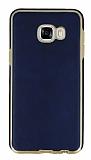 Eiroo Rind Samsung Galaxy C7 SM-C7000 Lacivert Silikon Kılıf