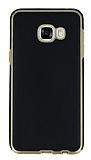 Eiroo Rind Samsung Galaxy C7 SM-C7000 Siyah Silikon Kılıf