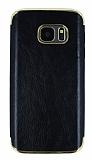 Eiroo Rind Samsung Galaxy S7 Siyah Silikon Kılıf