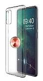 Eiroo Ring Crystal Samsung Galaxy A51 Rose Gold Yüzüklü Silikon Kılıf