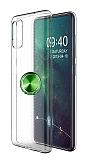 Eiroo Ring Crystal Samsung Galaxy A51 Yeşil Yüzüklü Silikon Kılıf