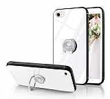 Eiroo Ring Up iPhone 7 / 8 Selfie Yüzüklü Cam Silikon Kılıf