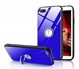 Eiroo Ring Up iPhone 7 Plus / 8 Plus Selfie Yüzüklü Cam Kılıf